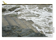 Carry-all Pouch featuring the photograph Watch Your Step by Brenda Brown