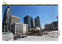 Watching Over Nashville Carry-all Pouch by Dan Sproul