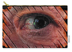 Carry-all Pouch featuring the digital art Watching You by Maciek Froncisz