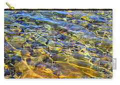 Water Abstract Carry-all Pouch by Lynda Lehmann