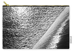 Carry-all Pouch featuring the photograph Water And Light by Photographic Arts And Design Studio