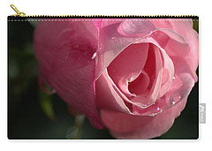 Water And Rose Carry-all Pouch