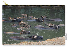 Water Buffalo Carry-all Pouch by Chris Flees