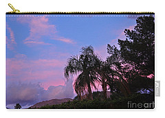 Water Colored Sky Carry-all Pouch by Jay Milo