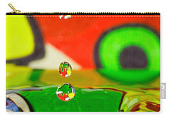 Carry-all Pouch featuring the photograph Water Dew by Peter Lakomy