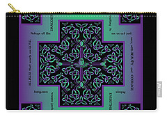 Water Dragon Celtic Cross Carry-all Pouch