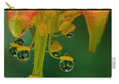 Water Droplets Carry-all Pouch