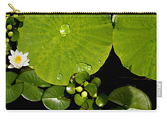 Water Drops Bristol Rhode Island Carry-all Pouch by Tom Prendergast