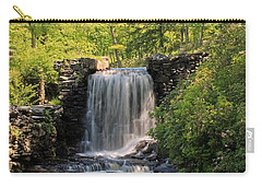 Water Fall Moore State Park 2 Carry-all Pouch