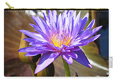 Carry-all Pouch featuring the photograph Water Flower 1004d by Marty Koch
