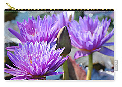 Carry-all Pouch featuring the photograph Water Flower 1006 by Marty Koch