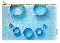 Water Happy Face Carry-all Pouch
