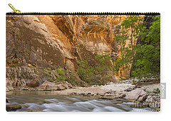 Carry-all Pouch featuring the photograph Water In The Narrows by Bryan Keil