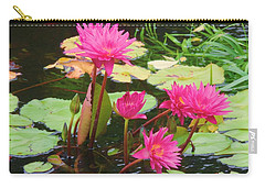 Water Lilies 008 Carry-all Pouch