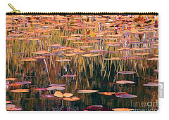 Water Lilies Re Do Carry-all Pouch