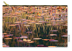 Water Lilies Revisited Carry-all Pouch