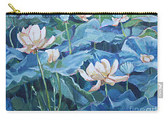 Water Lilies Two Carry-all Pouch