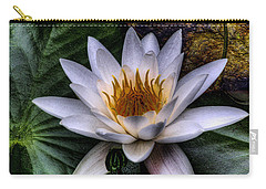 Water Lily Carry-all Pouch by David Patterson