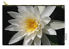 Carry-all Pouch featuring the photograph Water Lily  by Denyse Duhaime