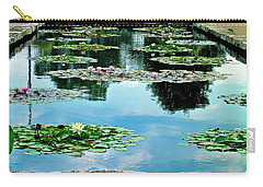 Water Lily Garden Carry-all Pouch
