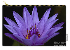 Carry-all Pouch featuring the photograph Water Lily Photo by Meg Rousher