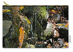 Carry-all Pouch featuring the photograph Water Of Life by Michele Myers