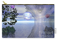 Carry-all Pouch featuring the digital art Water Protection by Kim Prowse
