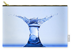 Water Splash Carry-all Pouch by Anthony Sacco