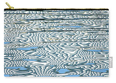 Water Stripes Abstract Carry-all Pouch