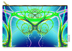 Water World Fractal Carry-all Pouch
