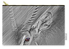 Waterbuck Carry-all Pouch by Miroslava Jurcik