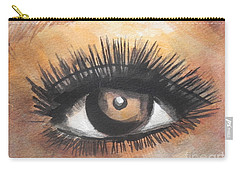 Watercolor Eye Carry-all Pouch