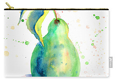 Watercolor Illustration Of Pear  Carry-all Pouch