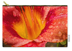 Watered Lily Carry-all Pouch