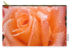 Watered Rose Carry-all Pouch