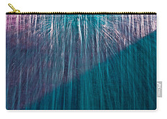 Waterfall Abstract Carry-all Pouch by Stuart Litoff