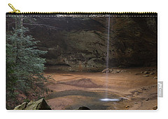 Waterfall At Ash Cave Carry-all Pouch