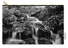 Waterfall At Rainbow Springs Carry-all Pouch by Beverly Stapleton