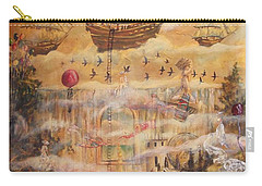 Waterfall Of Prosperity Carry-all Pouch