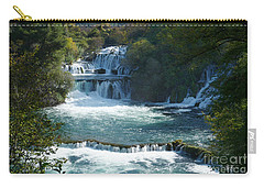 Waterfalls - Krka National Park - Croatia Carry-all Pouch