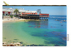 Waterfront At Cannery Row Carry-all Pouch by Jonah  Anderson
