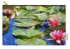 Waterlilies From Giverny Carry-all Pouch