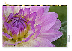 Waterlily Dahlia Carry-all Pouch