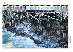 Wave Action Carry-all Pouch by Susan Wiedmann