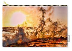 Wave Crasher La Jolla By Diana Sainz Carry-all Pouch