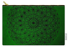 Wave Particle Duality II Carry-all Pouch by Jason Padgett