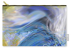 Carry-all Pouch featuring the digital art Wave Theory by Richard Thomas