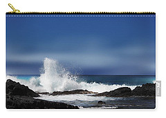 Carry-all Pouch featuring the photograph Waves by Athala Carole Bruckner