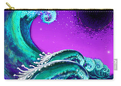 Waves Carry-all Pouch by Carol Jacobs