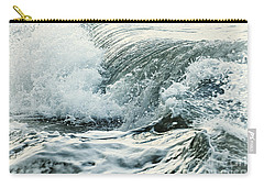 Waves In Stormy Ocean Carry-all Pouch
